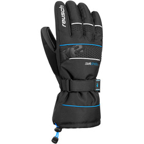 Reusch Connor R-TEX XT Guantes, black/brilliant blue